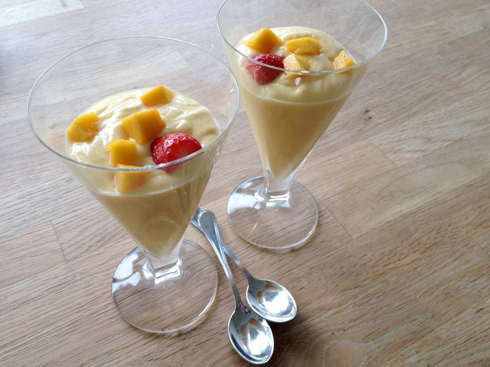 Tasty Mango Mousse - check it out!