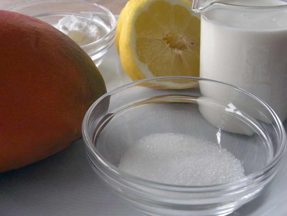 Mango Mousse Ingredients
