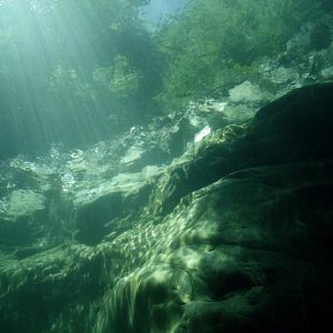 River Diving in Valle Maggia