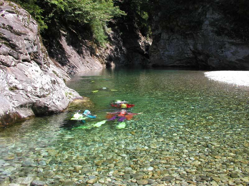 Maggia River Diving