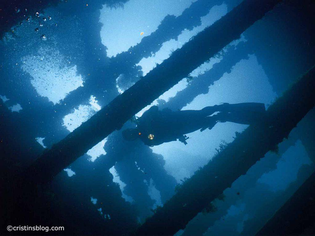 Chuuk Fujikawa Maru Deck