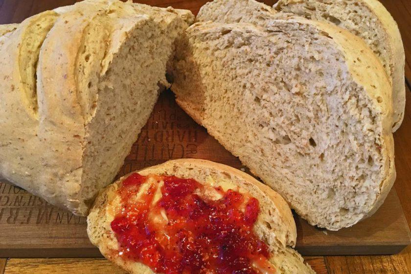 yummy whole wheat bread self-made