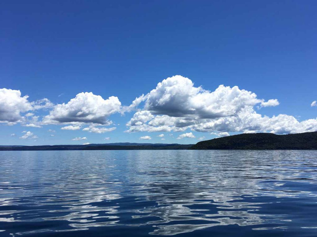 Great Lake Taupo New Zealand