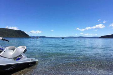 Jet Ski Lake Taupo New Zealand
