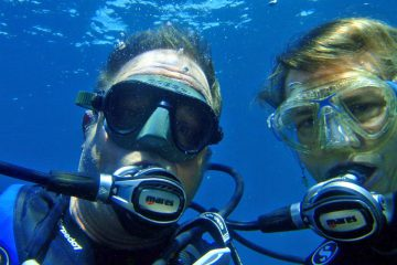 Diving Lake Taupo New Zealand