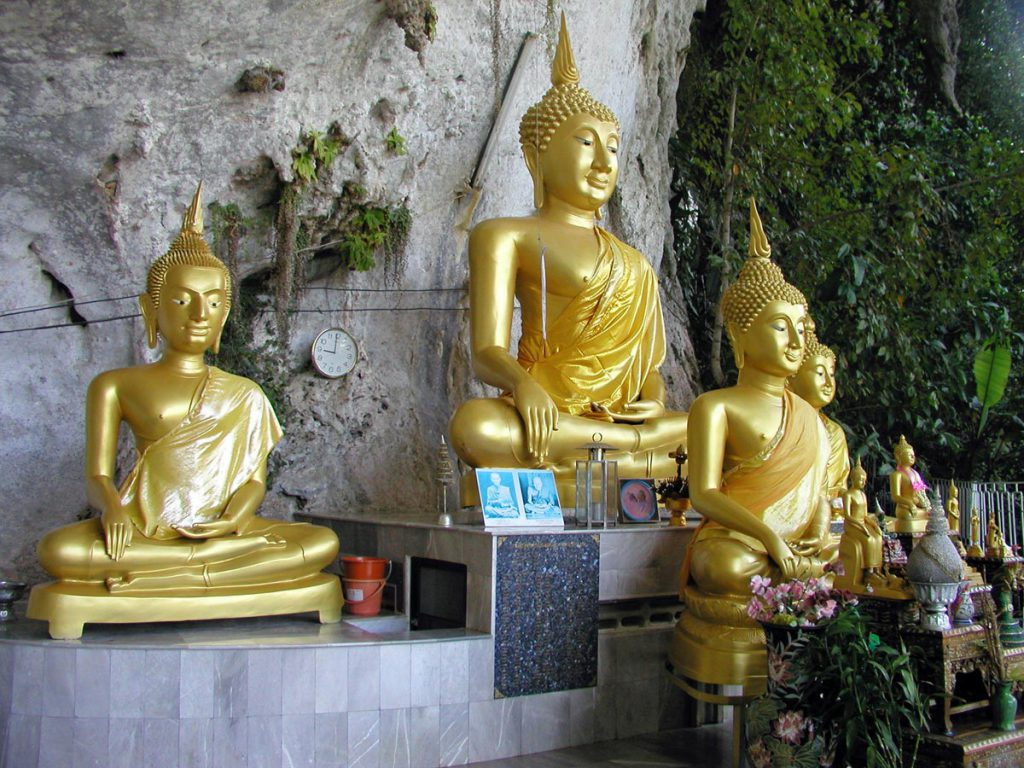 Khao Sok Cave and Buddha Temple
