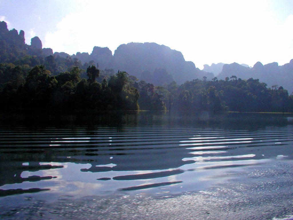 Cheow Larn Lake Khao Sok Thailand