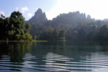 Beautiful Cheow Larn Lake Khao Sok Thailand