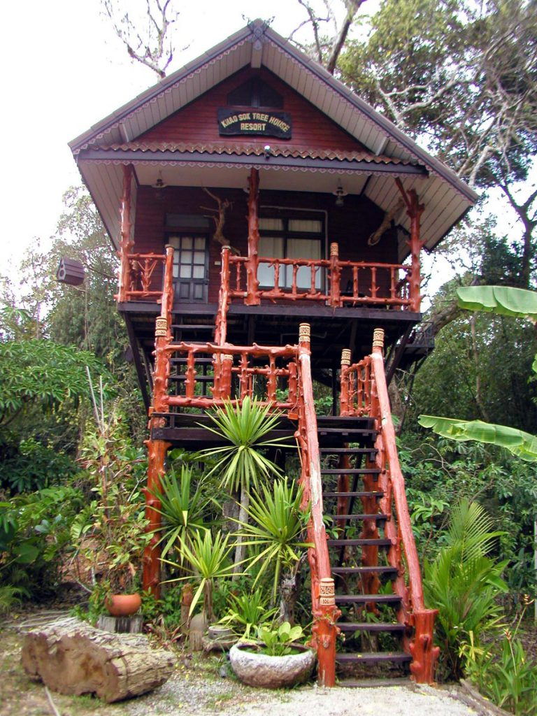 Khao Sok Thailand Tree House