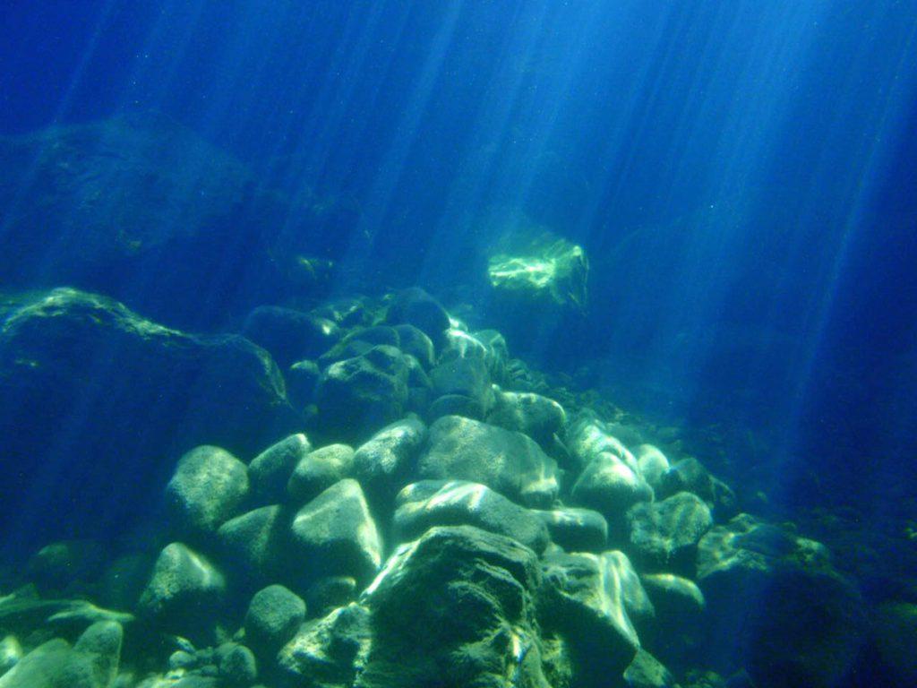 Diving Lake Taupo Fascinating Rocks Underwater