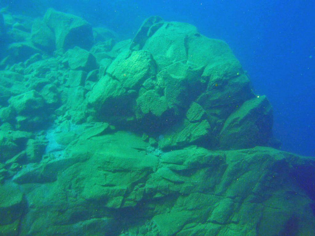 Lake Taupo New Zealand Rock Formation