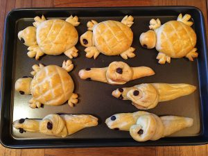 how to make swiss bread animals