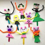 tinker with children, craft with children, green kid crafts