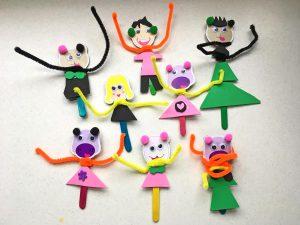 tinker with children, craft with children, green kid crafts