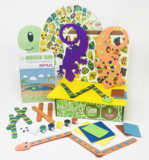 Green Kid Crafts Promotion