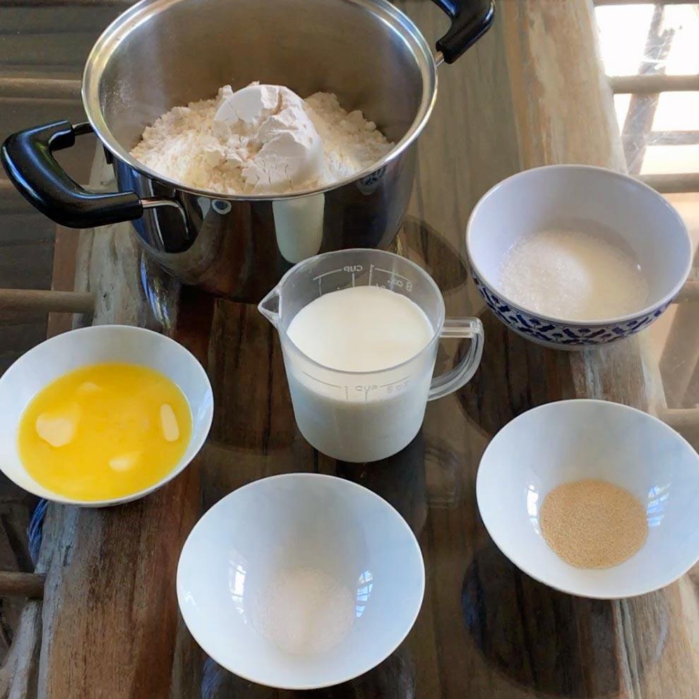 dreikoenigskuchen zutaten, epiphany cake ingredients